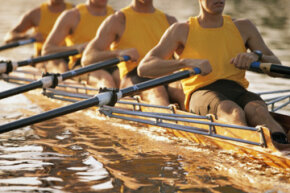 Rowing is a full-body workout, so be prepared to get into amazing shape!