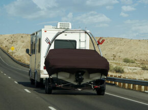 Ready for that lake tour? First learn a bit about towing with an RV.