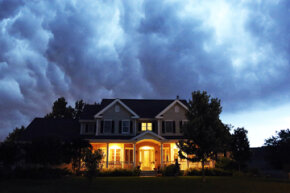 Clear skies aren't a good indicator when it comes to storm safety. Take cover if you hear thunder, just in case.