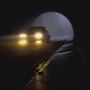 Driving at night can be a scary proposition - and it's even scarier if you can't see the road well.
