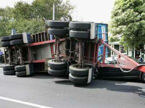 Trailers can be tricky to maneuver, so caution and careful braking are critical.