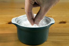 Salt used to be such a hot commodity that spilling it was akin to losing money.