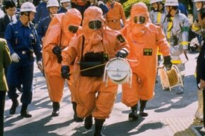 Sarin gas was used in an attack in the Tokyo Metro system in 1995.