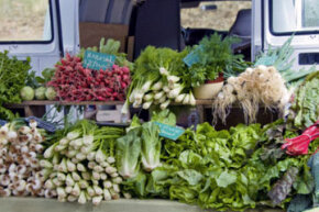 Buying seasonal, fresh produce from a small, local farmer can often be cheaper than buying from a large supermarket. And it usually tastes better, too, because it's often just harvested.