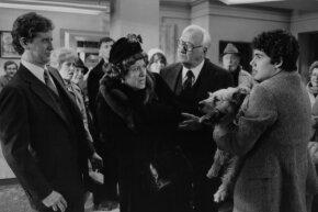 Deagle, Peltzer and Barney square off. (Also, hi Judge Reinhold!)