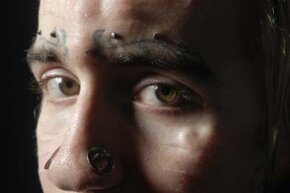 Pauly Unstoppable, one of the original three to undergo eyeball tattooing in Canada.