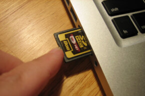Some laptops feature SD card readers, making it quick and easy to read SD cards from cameras and other devices.