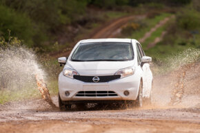 Nissan Europe has begun tests on innovative paint technology that repels mud, rain and everyday dirt, meaning drivers may never have to clean their car again.