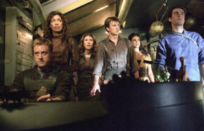 "The crew and passengers of ""Serenity"".  See more Serenity pictures."