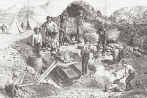 Gold miners in northern California were none too pleased with increased taxation, but not so fed up that they'd want to maintain an entire independent country for more than a few months.