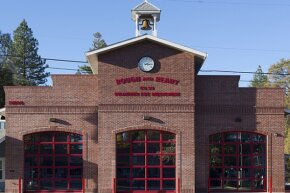 The firehouse in the town of Rough and Ready, California, once -- very briefly -- its own country.