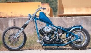 The Shovel chopper took 15 years to build.