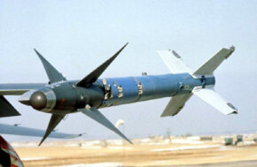 The Sidewinder is a short-range missile for air-to-air combat.