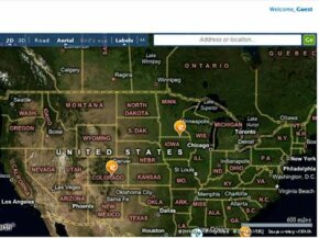 The Echo myPlace application uses Silverlight to tie news stories to geographic locations.