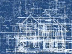 Architectural blueprints can be digitally created to provide instructions for manufacturers to cut prefab SIPs.