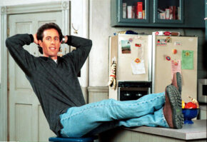 Comedian Jerry Seinfeld's self-titled show mastered the successful sitcom formula.