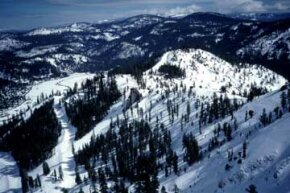 Squaw Valley Ski Resort is a good pick for skiers looking to diminish the environmental impact of their winter adventure.
