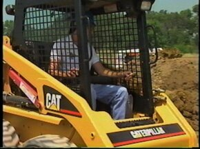 Watch a video of the Caterpillar Skid Steer Loaders in action. (6 MB)