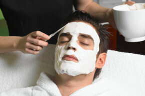 Getting Beautiful Skin Image Gallery                          Peter Dazeley/Photodisc/Getty Images                  When selecting a cream or lotion to firm your skin,                          look for one that boosts collagen or elastin -- or                          both -- below the surface layer of the skin. See more getting beautiful skin pictures.