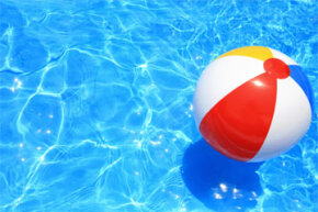 As strange as it may sound, swimming can dehydrate your skin.