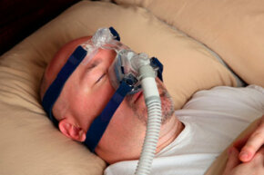 Many patients with sleep apnea experience sounder sleep with the use of a CPAP machine.
