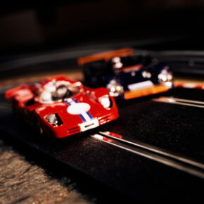 Slot car racing has remained a popular hobby for decades.­ See more pictures of toys.