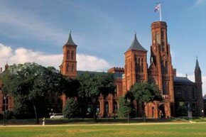 The Castle, the first Smithsonian Institution Building. See more pictures of Washington, D.C.