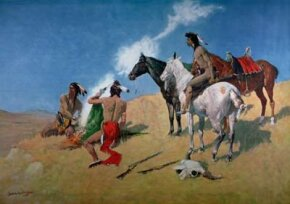 Native Americans used smoke signals to communicate.