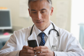 You exchange text messages with your friends, your family and maybe your co-workers, but your doctor?