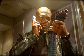 "Samuel L. Jackson in ""Snakes on a Plane"""