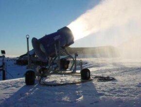 A Super Wizzard snow gun in New Zealand