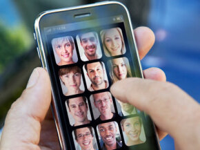 Are the faces you see on your iPhone your friends in real life?