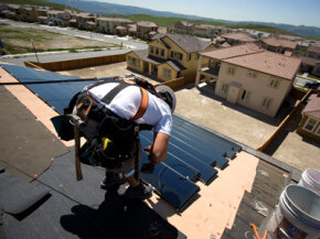 Solar panels no longer have to be the homeowner's responsibility.