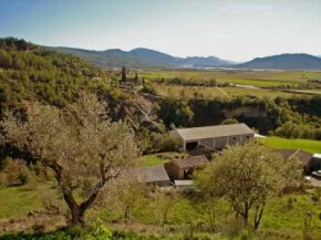 The Somontano wine region, which is home to 30 vineyards, produces 14.3 million liters of wine every year. See more wine pictures.