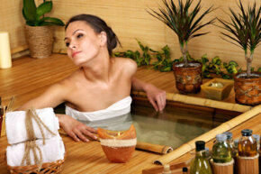 Don't stop at the massage table; go all in -- underwater!
