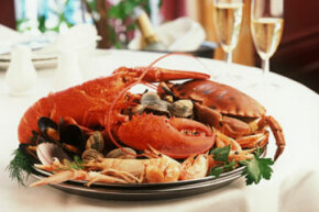 Can't decide between splurging on lobster or saving cash with crab? Consider dishes that let you incorporate both.