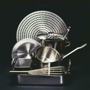 Most stainless steel cookware falls into the austenitic steel category.