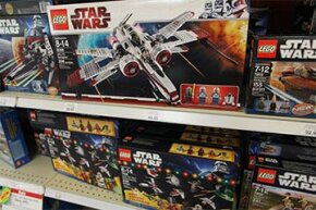 """""""Star Wars"""" was responsible for the rebirth of the entire Lego bricks business in 1999, when the company launched Star Wars Lego bricks."""
