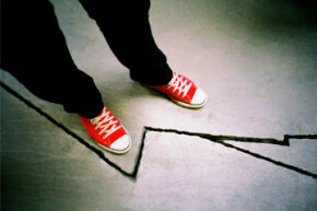 You'd be surprised at how many adults do their best to avoid stepping on a crack.