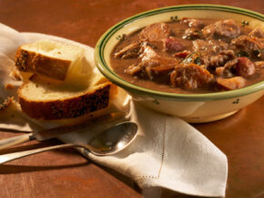On a cold winter day, nothing's better than a hot, hearty bowl of stew. See more comfort food pictures.