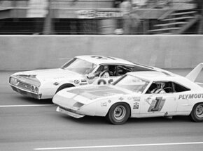 Generally referring to NASCAR season 1969-1970, warring for the most aerodynamic car was an intense rivalry between race car makers.