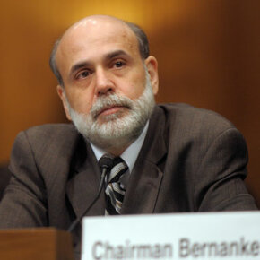 Federal Reserve Chairman Ben Bernanke ponders the state of the U.S. economy.