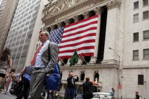 The New York Stock Exchange in New York City.
