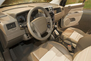 Be wary if your dashboard doesn't look like this. Your airbag could be damaged or missing.