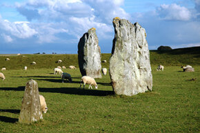 Fellow Neolithic henge Avebury sits about 19 miles north of Stonehenge.