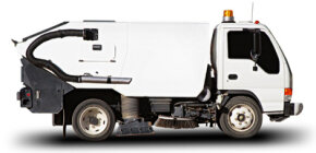 Mechanical street sweepers actually predate the automobile.­