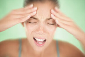 Teeth grinding caused by stress can lead to headaches.