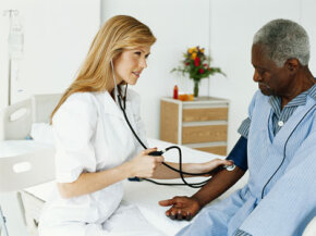 Routine blood pressure checks can keep a major stroke risk factor under control.