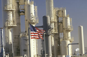 Oil refineries like this one in California shut down for a few months every year. This is another reason why summer fuel prices are higher than winter fuel prices.