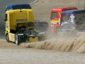 Driving a full-sized rig at speeds approaching 100 miles per hour takes a lot of skill -- and guts, too.